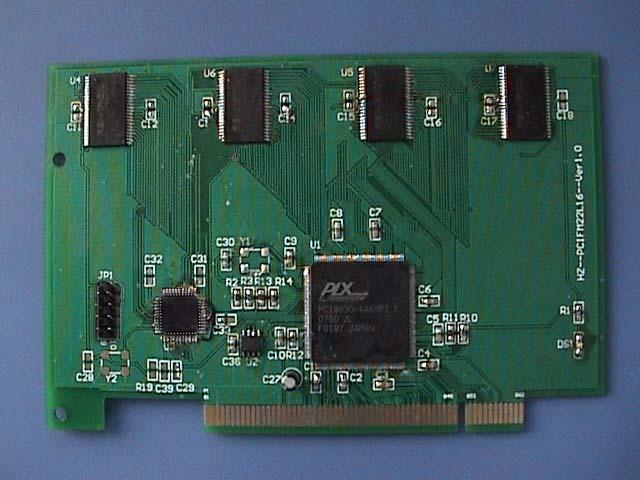 2协议,总线速度高达33mhz 特点:   板卡上有4m字节的铁电存储器;   掉